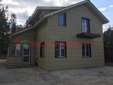 продаётся дом общая площадь 147,2 кв.м. материал полистеролбетон. под сайдингом, 2 эт ...